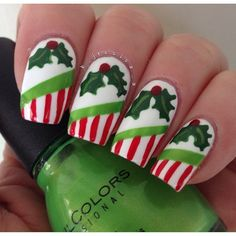 christmas by b_jessica_3 #nail #nails #nailart