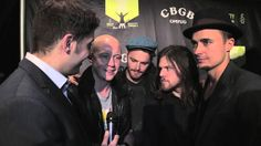 The Fray joins Arthur Kade #InTheLab before performing at the Amnesty International concert at the Barclays Center.