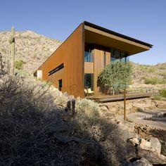 Corten-steel-house