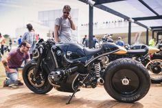 """rhubarbes: """" BMW """"RnineT"""" by the Cherry's Company - Photography by Mihail Jershov -www.mjstudio.co.uk More bikes here. """""""