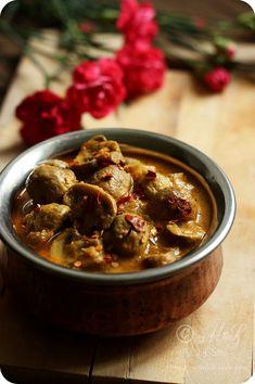 Dahiwale Mushrooms   Mushroom Yogurt Curry Recipe