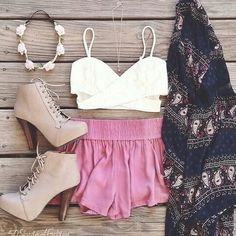 Summer outfit - love the boots