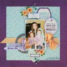 Mommy's Girls - Scrapbook.com