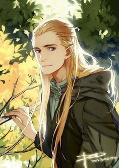 """Legolas! What do your Anime eyes see?"""