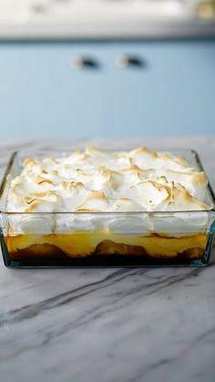 A deliciosa combinação de camadas de abacaxi, creme e merengue tostado, o Chico Balanceado é a sobremesa perfeita!