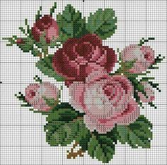 Awesome Most Popular Embroidery Patterns Ideas. Most Popular Embroidery Patterns Ideas. Cross Stitch Love, Cross Stitch Flowers, Cross Stitch Charts, Cross Stitch Designs, Cross Stitch Patterns, Cross Stitching, Cross Stitch Embroidery, Embroidery Patterns, Hand Embroidery