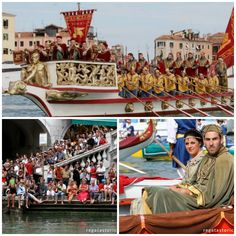 Sunday September 1, 2013 is Regata Storica, or Historic Regatta, in Venice. Looks like so much fun!