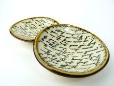 Vintage Script Mini Bowl.