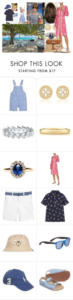 """Going for breakfast with Moira and the boys in the morning"" by lady-maud ❤ liked on Polyvore featuring Petit Bateau, Elsa Peretti, Melissa Odabash, Joules, STELLA McCARTNEY, Ralph Lauren, Hermès and Sole Society"