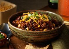 MVP Chili made with Johnsonville Hot Italian Sausage Links