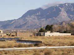 Sandia Mountains near Four Hills