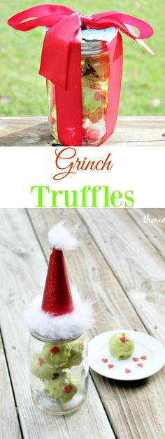 Grinch Truffles are