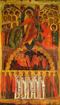 The Descent into Hell, with Selected Saints