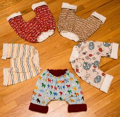 Baby Bubble Pants - perfect to wear over cloth diapers!