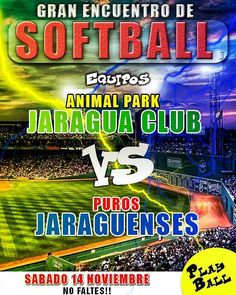 #PurosJaraguenses reciben al #JaraguaClub #softball