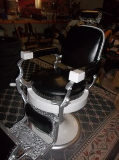Andy Griffith Barber Vintage Style Chair Vintage Barber Pole ...
