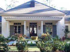 American foursquare exterior home pinterest house for Hip roof front porch addition