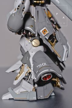 "gundamexousia:  Title: Sazabi ""der Schnee + Quad Gatling Gun"" Modification   Modeler: PA StudioModel   Type: Metal parts, custom panel line, custom color scheme, detailingKits Used: MG 1/100 Sazabi ver. KaAbout the Kit:""I am totally inspired by ihaveyen's Snow Sazabi. So, i decided to make my own version based on his sazabi. I added some custom panel line to enhance the complex look of sazabi ver. ka. I did some color separation too for the armor and frame""   Like this kit? Get it at…"