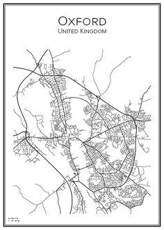 Affisch över Oxford