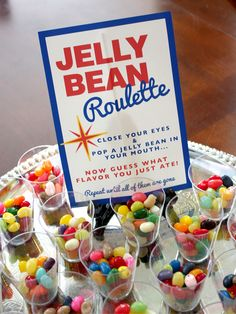 Welcome to my Fabulous Midlife Crisis Birthday- Vegas Style: Jellybean Roulette