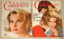 Lot de 2 Confidence Histoire Vrai n° 919 et n°924