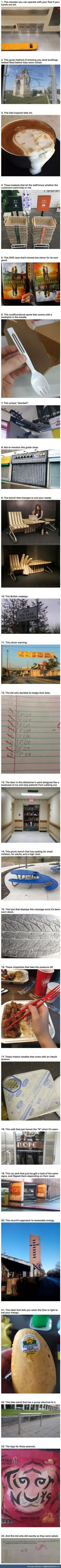 Clever humans