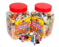 What's more rewarding than a jar of sweets? This 1Kg Jar of Retro Sweet Assortment is available to be branded with your company logo & is an ideal give away prize for conferences & events! The Jar contains Love Hearts, Refreshers, Black Jacks, Fruit Salads, Fizzers, Candy Necklaces, Parma Violets, Double Lollies, Drumstick Lollies, Sherbert Fountains & Love Heart Lipsticks. #PromotionalProducts #Sweets #Summer #PromotionalMerchandise #PrintedProduct #Product