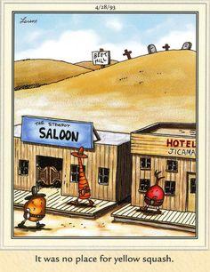 The Far Side by Gary Larson Funny Cartoon Pictures, Cartoon Jokes, Funny Cartoons, Funny Pics, Gary Larson Comics, Gary Larson Cartoons, Far Side Cartoons, Far Side Comics, Tin Bath