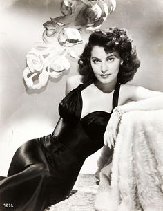 Ava Gardner, 1940s, vintage, actress.