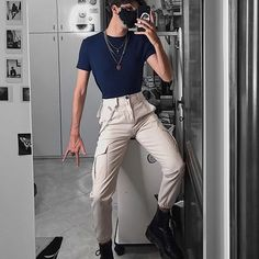 Casual Day Outfits, Stylish Mens Outfits, Mode Outfits, Fashion Outfits, Look Fashion, Korean Fashion, Videos Instagram, Looks Pinterest, Boys Clothes Style