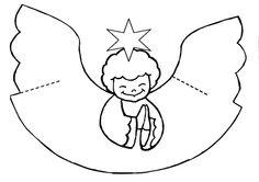 Pro Šíšu: Období ZIMA Winter Crafts For Kids, Diy For Kids, Christmas Deco, Christmas Crafts, Angel Images, Flower Template, Altered Books, Origami, Preschool