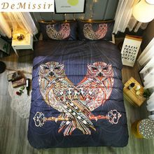 Unique arriving DeMissir OWL Bohemia Style US Queen King Size Soft Polyester Bedding Set 2/3Pcs Set Duvet Cover Set housse de couette now you can purchase US $55.00 with free shipping  you will discover this unique product together with more at our web site      Get it today here >> http://bohogipsy.store/products/demissir-owl-bohemia-style-us-queen-king-size-soft-polyester-bedding-set-2-3pcs-set-duvet-cover-set-housse-de-couette/,  #BohoStyle