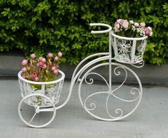 bc348acc57f3 Resultado de imagen para adornos de fierro para jardin Como Decorar El  Jardin, Muebles De
