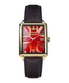 Imperialist gold-tone flag watch Sale - Vivienne Westwood Sale