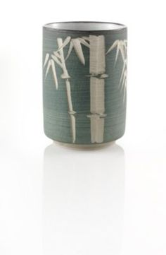 Carved Bamboo Tea Cup- I've really been in to Asian cultures lately. I love the etched bamboo on this cup.