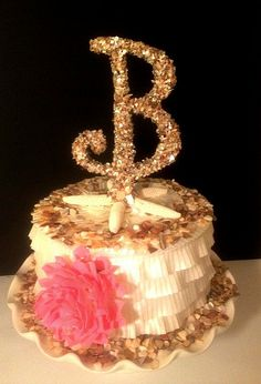 #CAKE TOPPER #Beach Wedding #Nautical by OHONEFINEDAY on Etsy, $42.00
