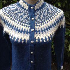 SaleFair Isle danish wool sweater size S by VikingRaids on Etsy