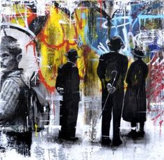 "Saatchi Art Artist ac one; Painting, ""authors anonymous"" #art"
