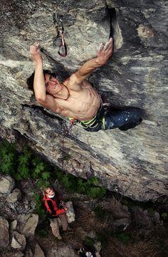 Adam Ondra (born February 5, 1993 in Brno) is a Czech rock climber. He also participates in sport climbing and bouldering competitions... http://en.wikipedia.org/wiki/Adam_Ondra