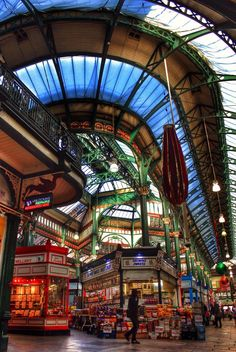 Leeds market............beautiful.. Leeds Market, Leeds City, Building Architecture, England And Scotland, West Yorkshire, Next At Home, Amazing Places, Beautiful World, Roads