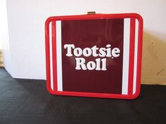 Loungefly Lunch Box Tootsie Roll Candy Red Hearts School Retro Style Lunchbox