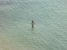 "Richard Misrach - ""On the Beach"" series - Untitled (Acrobat Super Grid #8)"