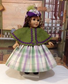 "Historical 5 pc Ensemble ""Lovely Lady"" for Marie Grace by craftymagaw via Etsy   $98.00"