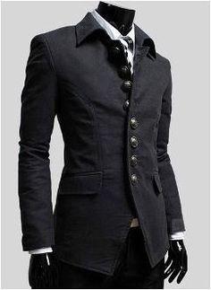 Korean Style Men's Single Breasted stylish jacket