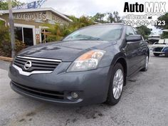 Sturdy and dependable, this Used 2009 Nissan Altima 2.5 S makes room for the whole team and the equipment. It comes equipped with these options: Zone body construction, Xtronic continuously variable transmission (CVT) w/manual shift mode, Warning lights -inc: door ajar, low fuel, low washer fluid, Velour seat trim, Vehicle security system, Vehicle immobilizer system, UV reducing glass w/dark upper windshield band, Triple bottle holders in center console, Trip computer w/outside temp gauge…