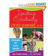 Helps elementary school teachers use creative methods to enhance gifted students' learning and stimulate higher-level thinking, discovery, and invention. The ready-to-use strategies, activities, and examples help teachers: Primary School, Elementary Schools, Study Methods, Gifted Education, Too Cool For School, Student Gifts, Teacher Resources, Teaching Ideas, Critical Thinking