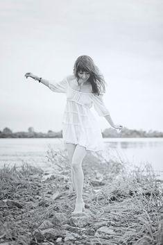by Alexander Polyakov / White Dress, Dresses, Fashion, Vestidos, Moda, Fashion Styles, Dress, Fashion Illustrations, Gown