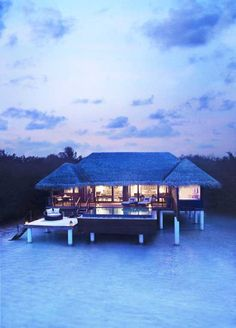 There is a piece of Heaven on Earth. It's called Bora Bora.   #borabora #architecture #housedesign