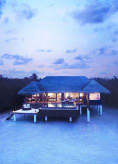 There is a piece of Heaven on Earth. It's called Bora Bora.   #borabora #architecture #housedesign