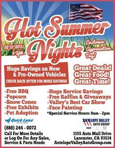 Hot Summer Nights Customer Appreciation Day 2013